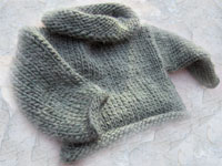 mohair baby sweater