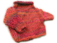 roll neck baby sweater